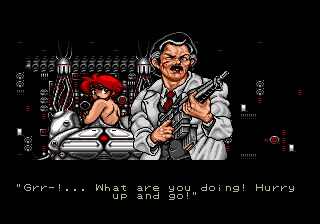 Battle Golfer Yui Mega Drive English Translation Project