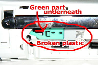 image of green plastic